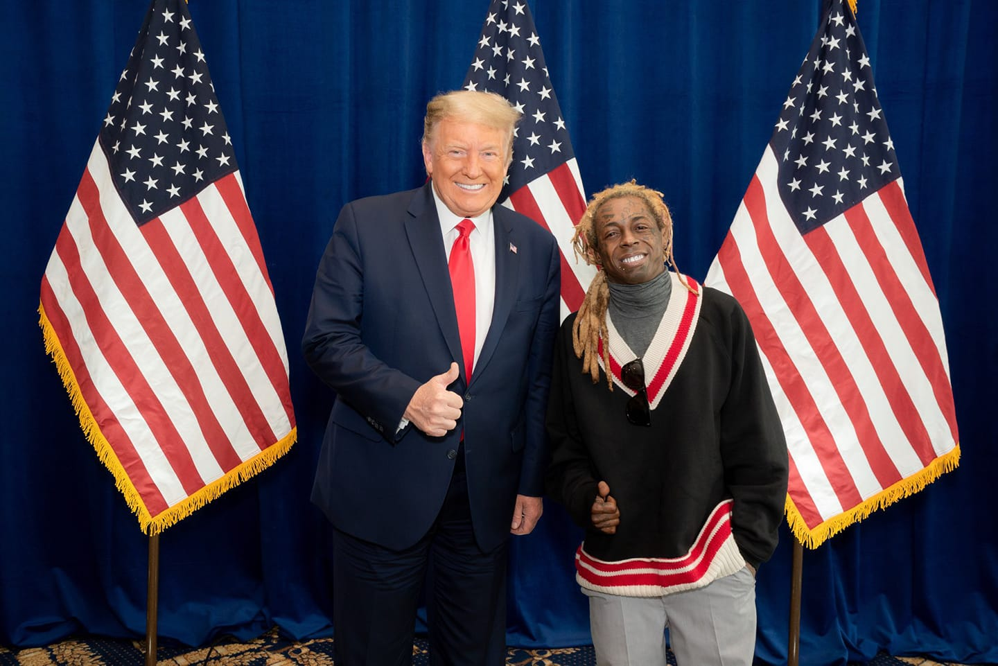 Lil Wayne and 45